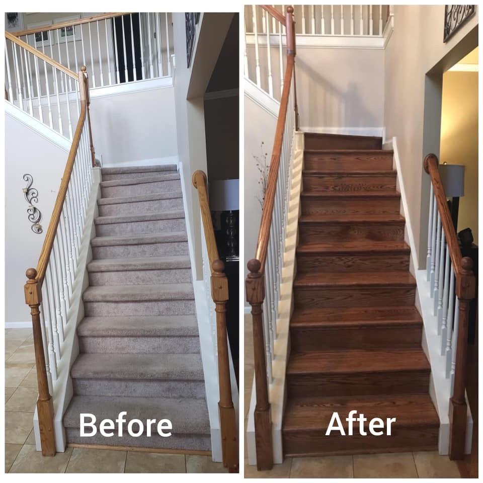Hardwood Stairs Douglasville