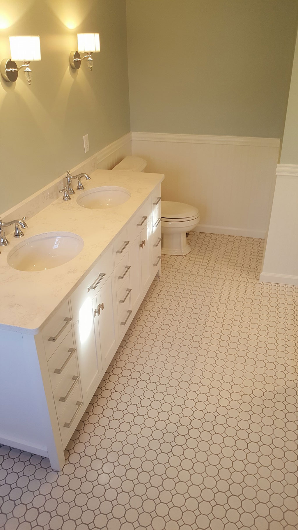 Tile Mosaic Marble Look Porcelain | Wyomissing